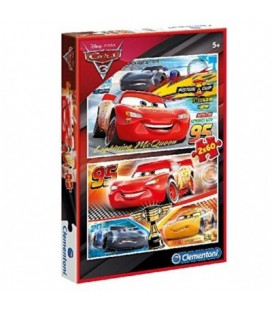 CLEMENTONI PUZZLE SUPERCOLOR 2X60 CARS 3