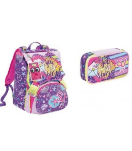 SCHOOLPACK SJ GANG HIGH TECH VIOLET