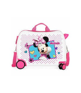 TROLLEY CAVALCABILE DISNEY MINNIE 38X20X50