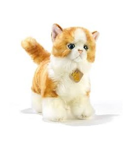 PELUCHE SCRATCH GATTO STRIATO 28 CM