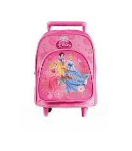 DISNEY PRINCIPESSE MINI TROLLEY CON ALBUM E COLORI